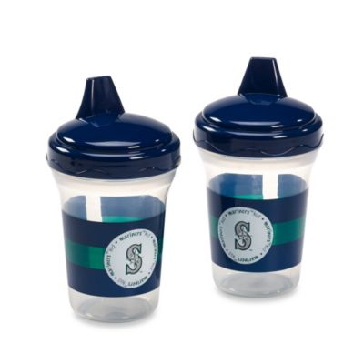 Baby Fanatic® MLB® 2-Pack 5-Oz. Seattle Mariners Sippy Cups