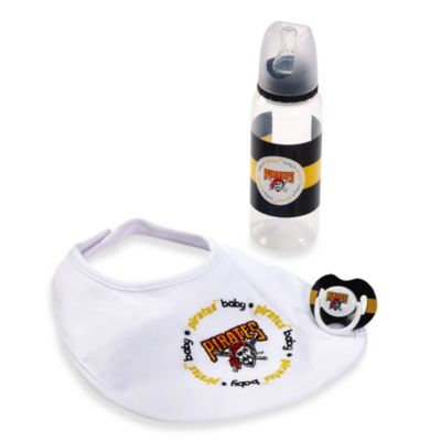 Baby Fanatic® MLB® Pittsburgh Pirates Baby Essentials Gift Set