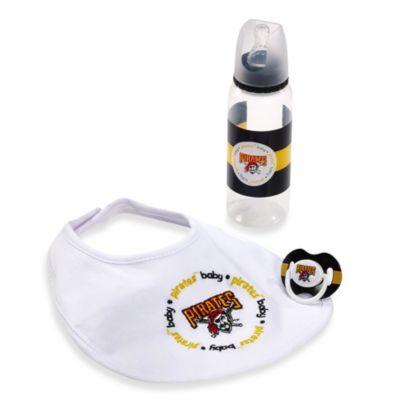 Baby Fanatic® MLB Pittsburgh Pirates Baby Essentials Gift Set