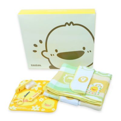 Piyo and Piyo® Bathing Baby Gift Set