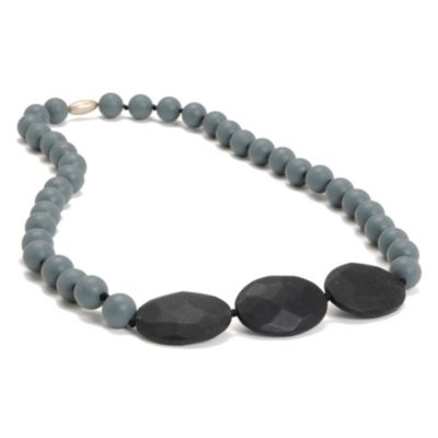 Chewbeads Greenwich Necklace in Grey