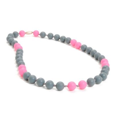 CHEWBEADS Necklace in Grey