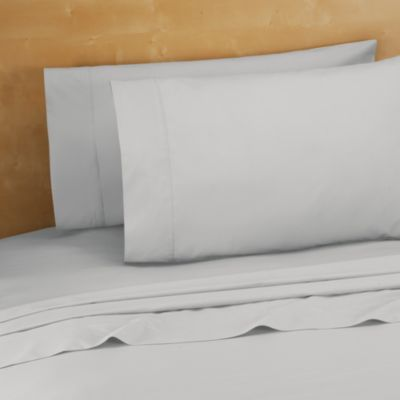 220-Thread-Count 100% Cotton King Sheet Set in Silver