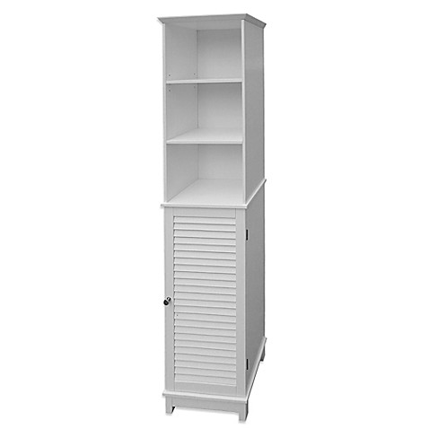 Buy Summit Tall Cabinet Tower In White From Bed Bath Beyond