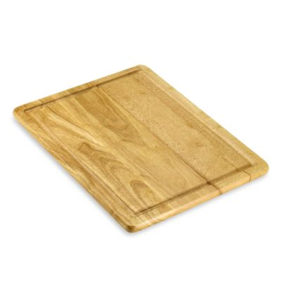 Gripper Wood 16-inch x 20-inch Cutting Board with Well