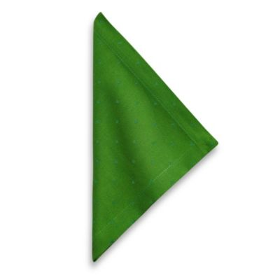 kate spade new york Larabee Dot 20-Inch x 20-Inch Napkin in Picnic Green