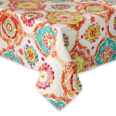 Fiesta® Ava 60-Inch x 102-Inch Oblong Tablecloth