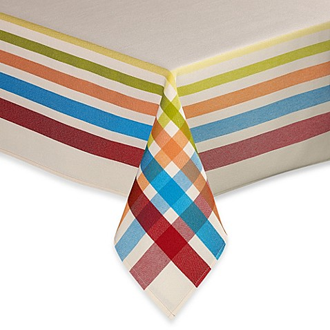 Fiesta 174 Plaid Tablecloth Www Bedbathandbeyond Com