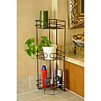 Better Sleep 3-Shelf Corner Tower in Oil Rubbed Bronze