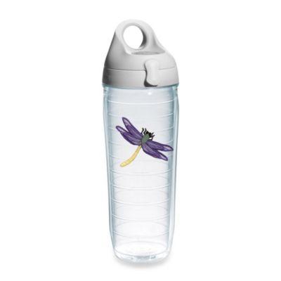Clear Purple Water Bottle