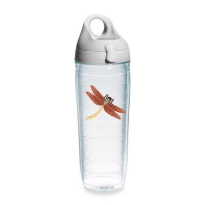 Dragonfly 24-Ounce Emblem Water Bottle in Orange
