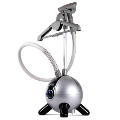 Laundry POD™ Upright Steamer in Silver/Black