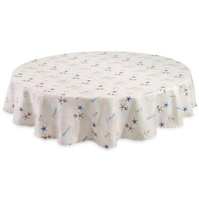Avanti Antigua 70-Inch Round Tablecloth
