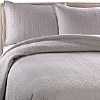 Kenneth Cole Reaction® Home Urban Bloom Coverlet in Platinum