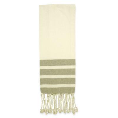 Fouta Kitchen Towel in Grey