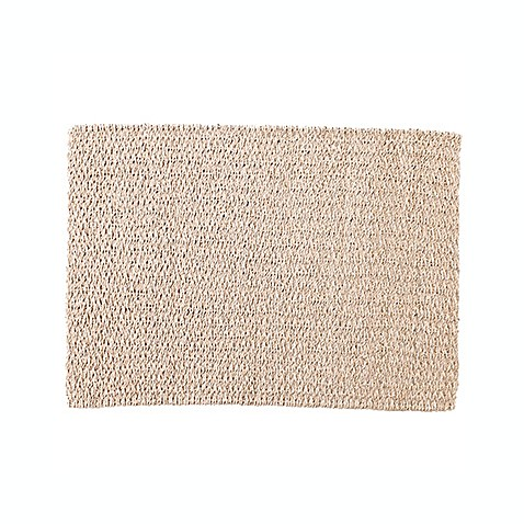 Buy Rope Palmleaf Placemat In Chocolate From Bed Bath Amp Beyond