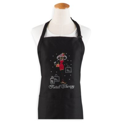 """Retail Therapy"" Hostess Apron"