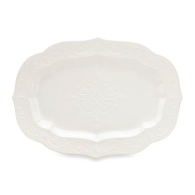 Lenox® French Perle Large Serving Platter in White