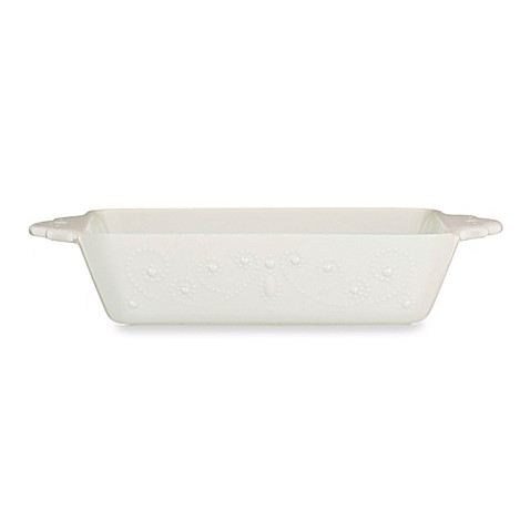 Lenox® French Perle Square Baker in White