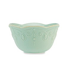 Lenox® French Perle Fruit Bowl in Ice Blue