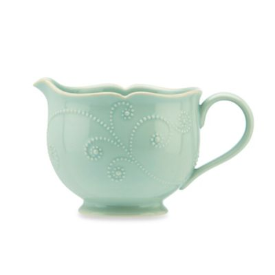 Lenox® French Perle™ Sauce Pitcher in Ice Blue
