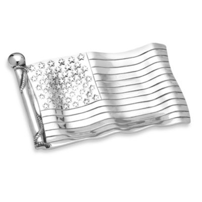 Wilton Armetale® Flag Bread Tray