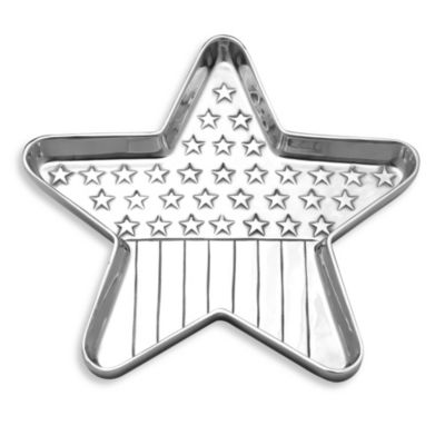 Wilton Armetale® Star Flag Tray