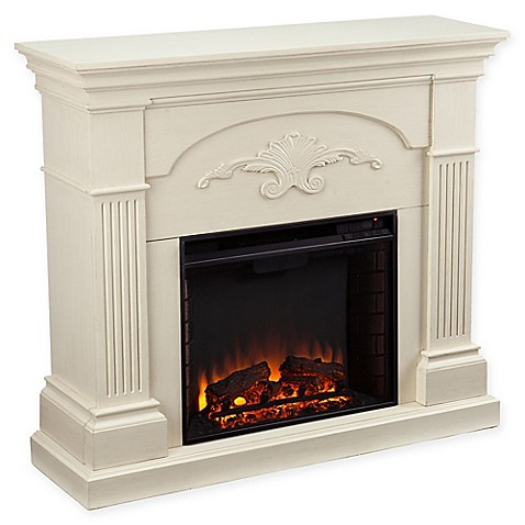 Buy Southern Enterprises Sicilian Harvest Electric Fireplace In Ivory From Bed Bath Beyond