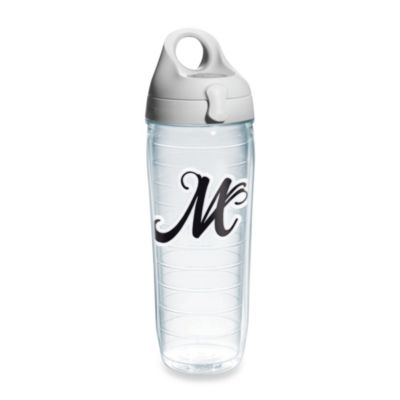 "Tervis® Script Letter ""M"" 24-Ounce Water Bottle"
