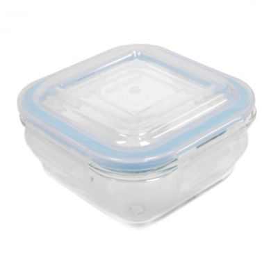 ProGlass 11.2-Ounce Square Glass Food Storage
