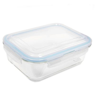 ProGlass 51.4-Ounce Rectangle Glass Food Storage