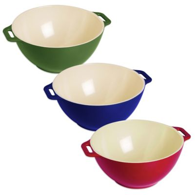 Staub Small Ceramic Serving Bowl in Cherry