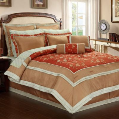 Josephine 12-Piece Queen Comforter Set
