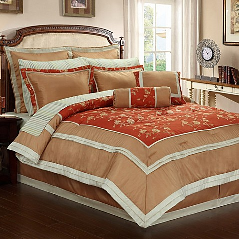 Buy Orange Comforters King From Bed Bath Amp Beyond