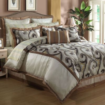 Gramercy 12-Piece King Comforter Set