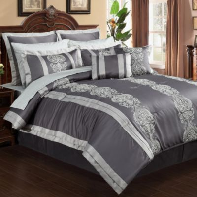 Dynasty 12-Piece King Comforter Set