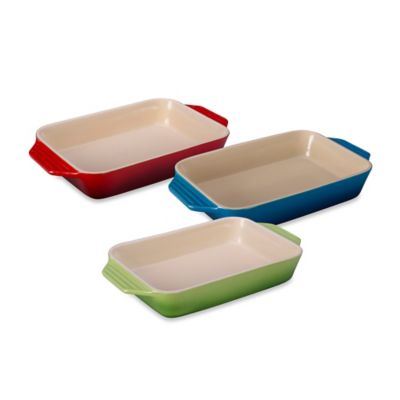 Le Creuset® 8-1/4-Inch x 12-1/2-Inch Rectangular Baking Dish in Palm