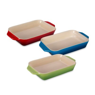 Le Creuset® 7-Inch x 10.5-Inch Rectangular Baking Dish in Palm