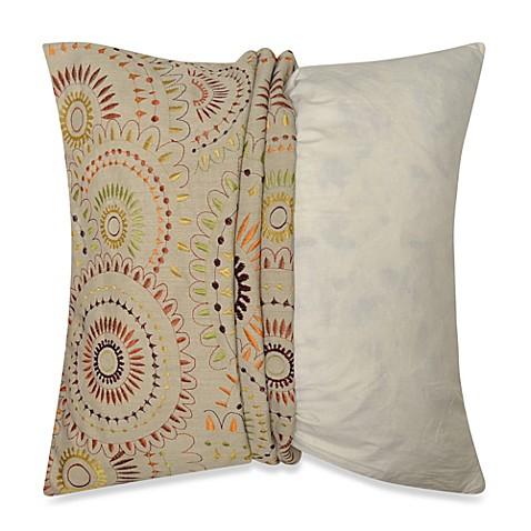 Myop Pinwheel Square Throw Pillow Cover In Multi Color