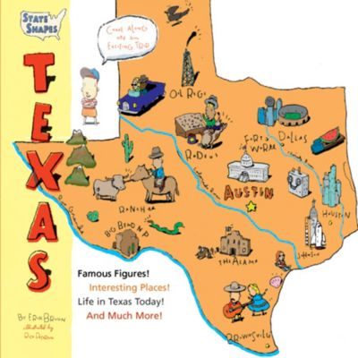 Texas State Shapes Book