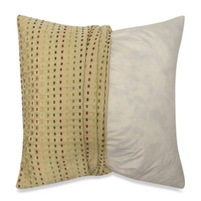 MYOP Dashes Square Throw Pillow Cover in Multi-Color