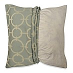 MYOP Deco Geo Venetian 20-Inch Square Toss Pillow Cover in Blue