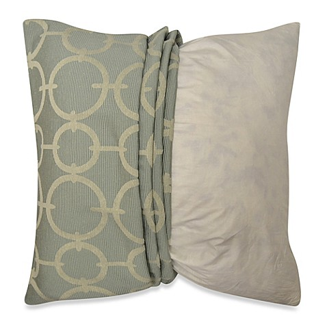 Myop Throw Pillow Covers : MYOP Deco Geo Venetian Square Throw Pillow Cover in Blue - Bed Bath & Beyond