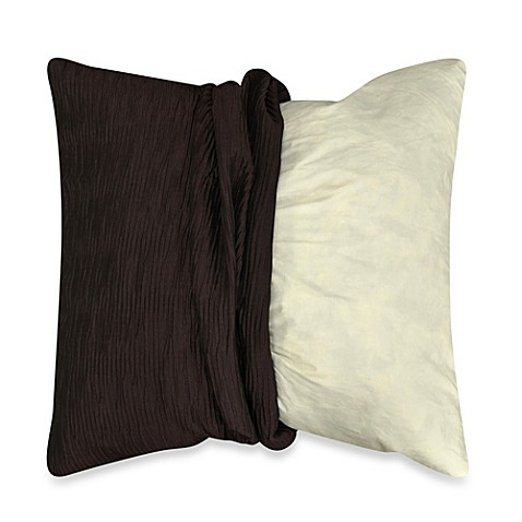 Myop Throw Pillow Covers : MYOP Sonoma Square Throw Pillow Cover in Plum - Bed Bath & Beyond