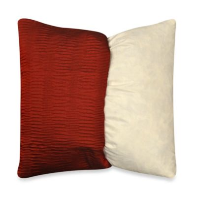 MYOP Sonoma Square Throw Pillow Cover in Red