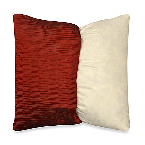 MYOP Sonoma Square Throw Pillow Cover in Red - Bed Bath & Beyond