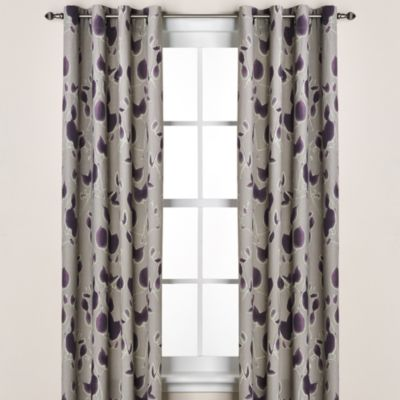 Kenneth Cole Reaction Home Shade Window Panel in Plum