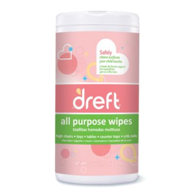 Dreft 70-Count All Purpose Wipes