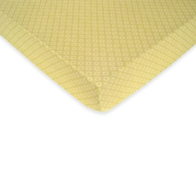 Carter's® Mix & Match Spots Fitted Crib Sheet in Green