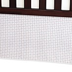 Carter's® Crib Bed Skirt in Grey Tile